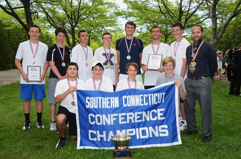 Xavier Boys Tennis D2 champs
