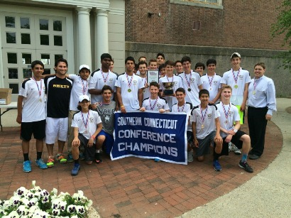 Amity 2015 Boys Tennis D1 champs