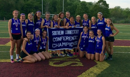 Mercy 2015 Girls Outdoor Track champs