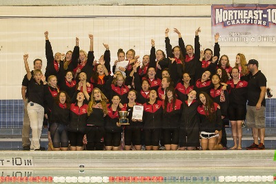 Cheshire Girls Swim 2013