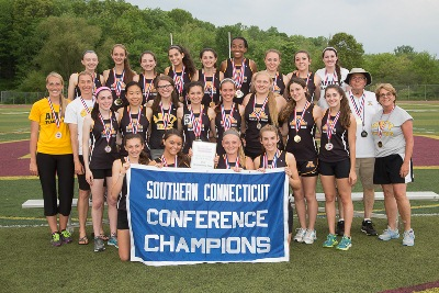 Amity - Girls Outdoor Track 2014